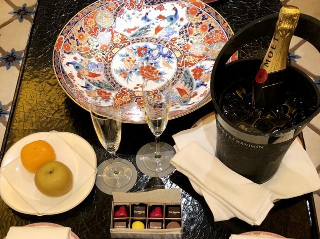 ウェスティンホテル東京スイートルーム