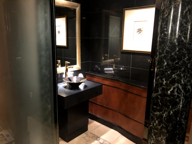 ウェスティンホテル東京インペリアルスイートのトイレ