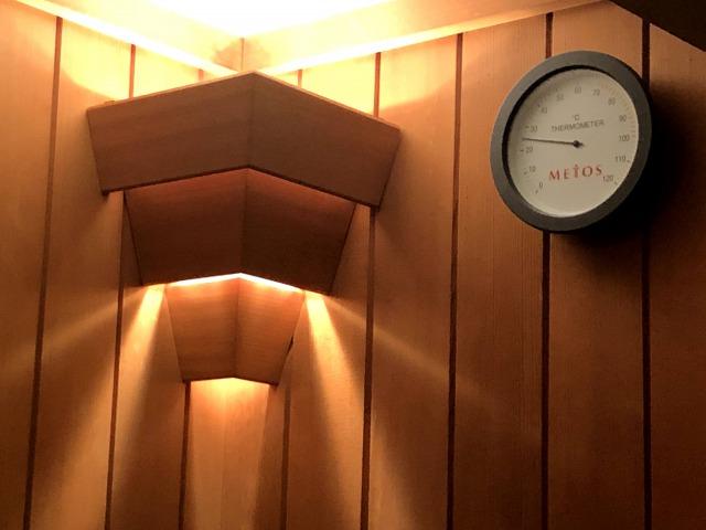 ウェスティンホテル東京インペリアルスイートのサウナ