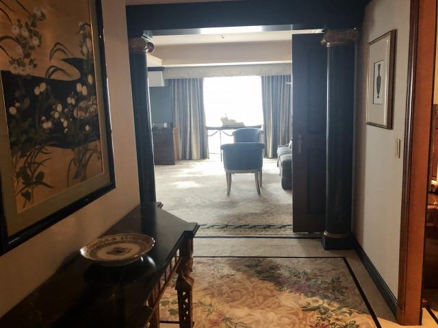 ウェスティンホテル東京インペリアルスイート