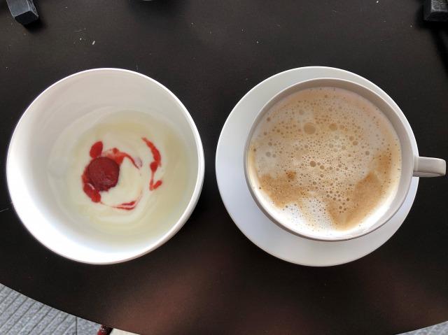メズム東京クラブラウンジ朝食