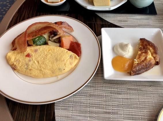 リッツカールトン東京クラブラウンジ朝食