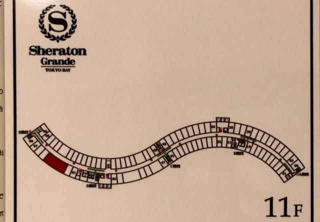 シェラトングランデ東京ベイ スイートルーム