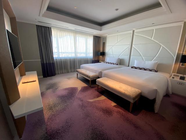 東京マリオットホテルのスイートルーム