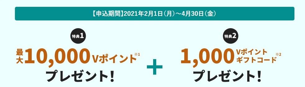 三井住友カードキャンペーン