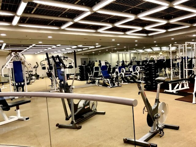 東京マリオットホテルのフィトネスジム