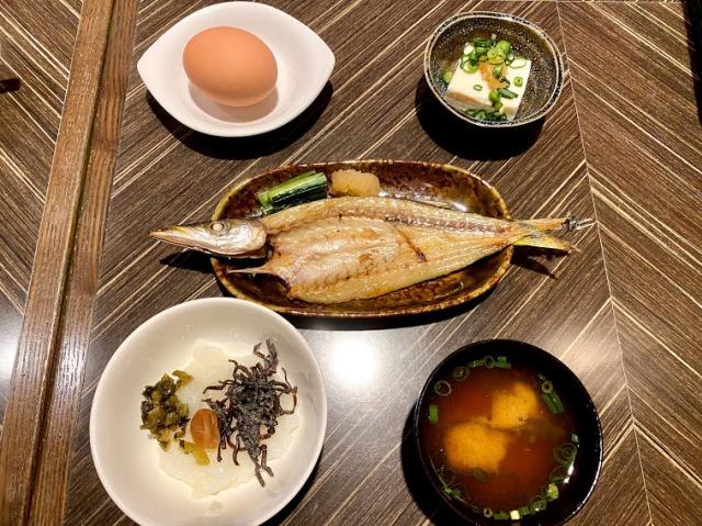 横浜ベイシェラトン コンパス朝食