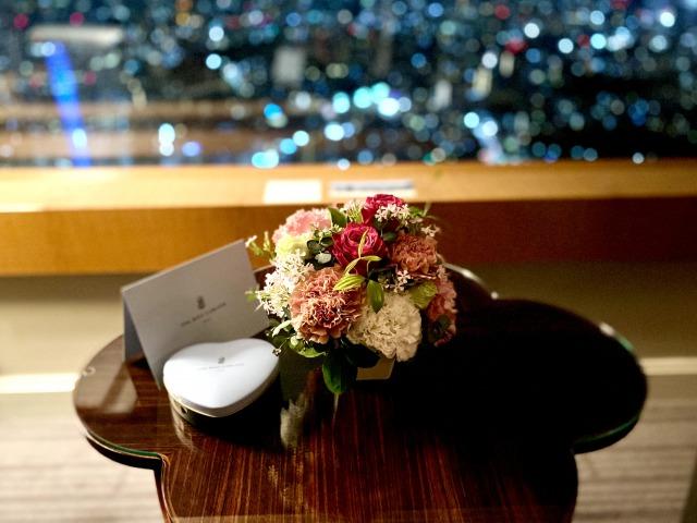リッツカールトン東京 花束