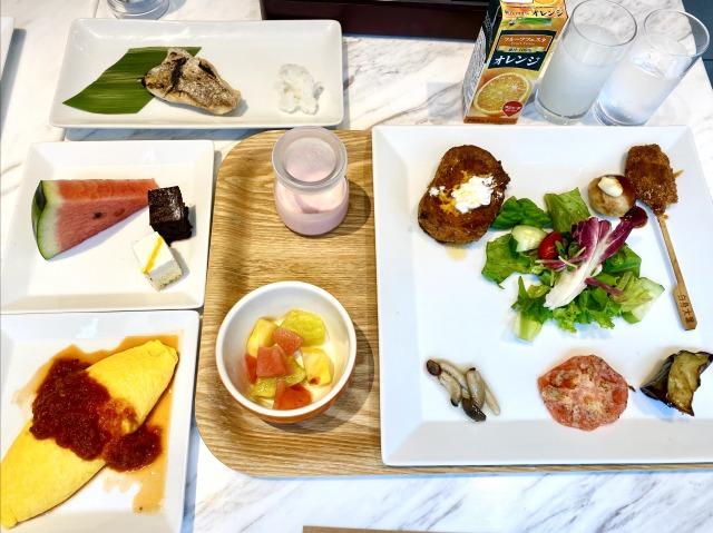 コートヤード大阪本町の朝食