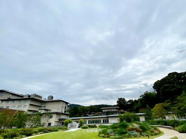 ウェスティン都ホテル京都 屋上庭園