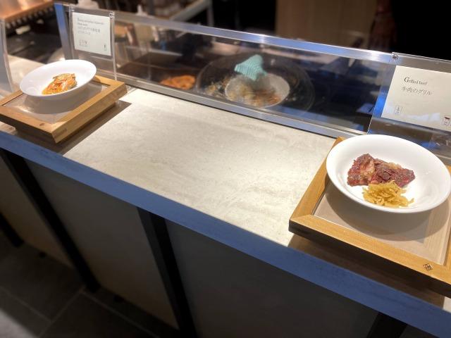 ウェスティン京都  洛空ディナーブッフェのライブキッチン