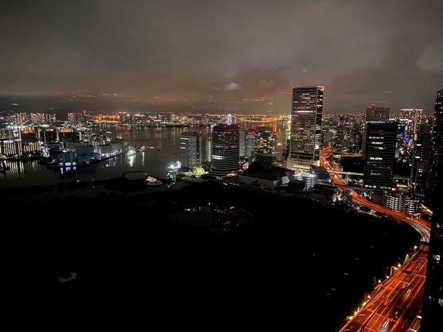 コンラッド東京ベイビュー夜景