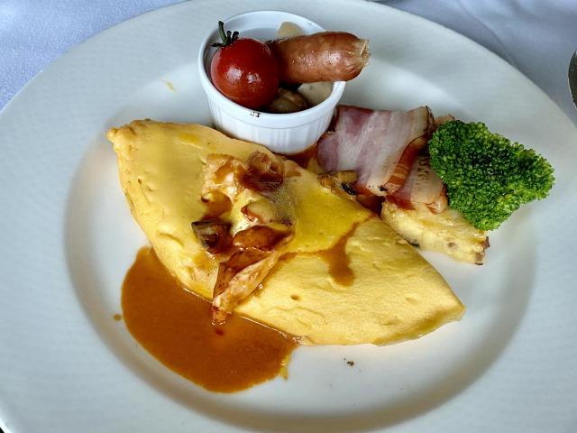 コンラッド東京インルームダイニング朝食