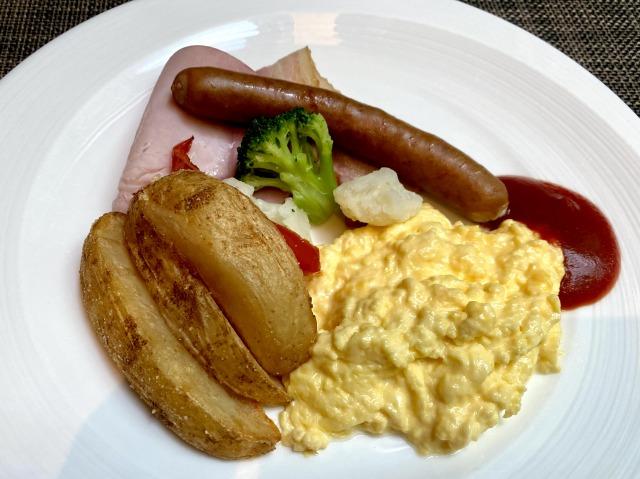 プリンスさくらタワー朝食