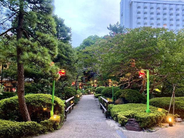 プリンスさくらタワー日本庭園